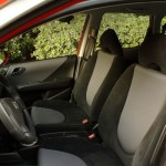 Honda Fit - front row seats