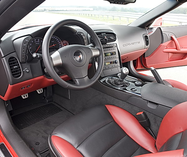 2009 Chevrolet Corvette ZR1 - interior