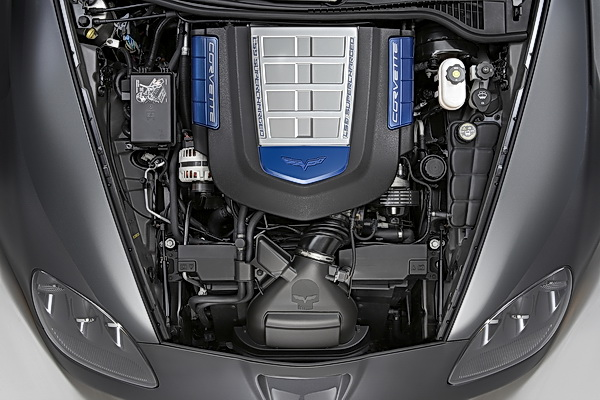 Chevrolet Corvette ZR1 LS9 6.2L V8 engine