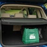 Volkswagen Tiguan - rear cargo area not too spacious