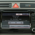 Volkswagen Tiguan - HDD storage for music