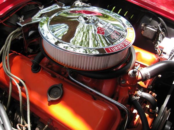 1967 Corvette with 390 hp 427 motor