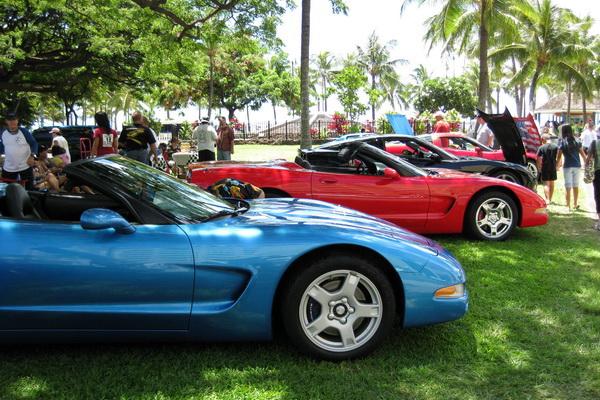 Corvettes in Paradise 2008