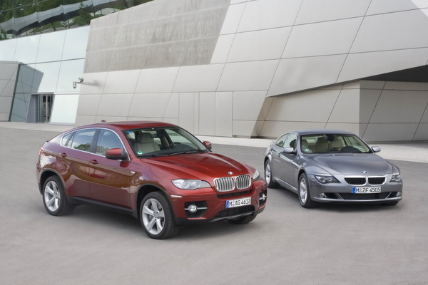 BMW X6 and 6-series