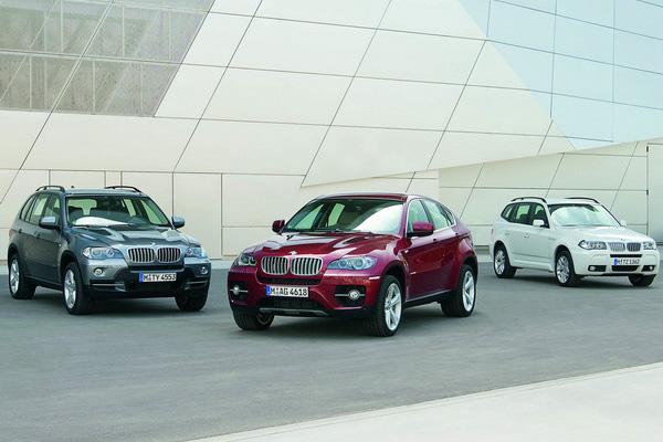 2008 BMW X6 X5 X3