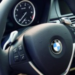 2008 BMW X6 steering wheel