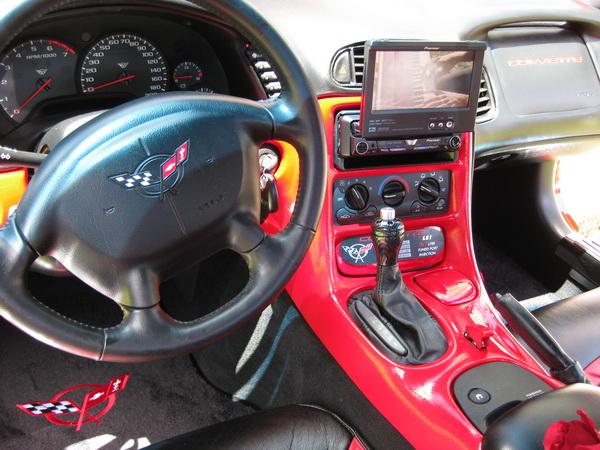 Dean's custom 2000 twin-turbo vette