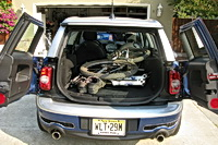 2008 MINI Cooper Clubman cargo area