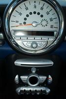 MINI Cooper Clubman speedometer