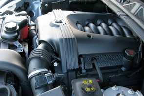 2009 Jaguar XF - 300 hp 4.2L V8 engine