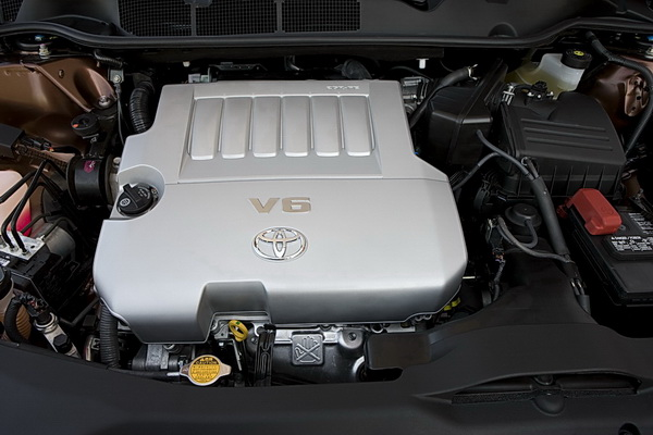 268 hp 3.5L VVT-i V6 engine