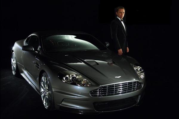 Aston Martin DBS Daniel Craig