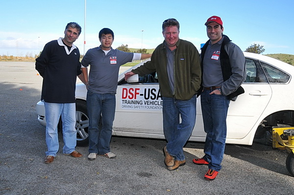 DSF instructors - Al, Wallace, Jeff, Sia