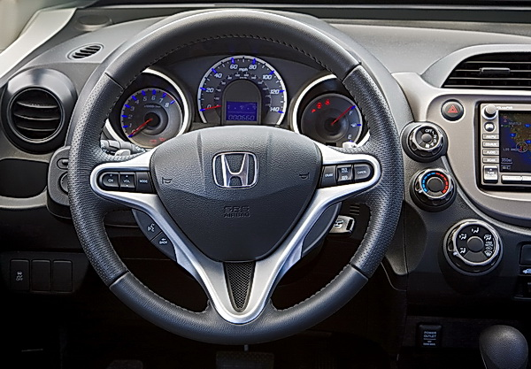 2009 Honda Fit Sport interior