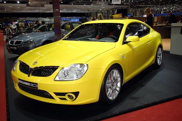Brilliance Auto at 2009 North American International Auto Show (NAIAS)