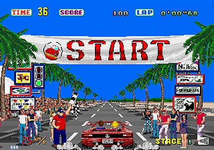 Games Video Games Driving  Racing Combat Grand Theft Auto on Of The Ferrari Testarossa Was One Of The First Arcade Games To Put
