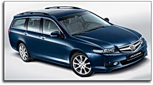 Honda Accord with 2.2 liter i-DTEC diesel motor