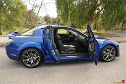 2009 Mazda RX-8 - Freestyle doors