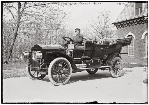 President Taft's White Steamer