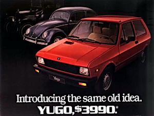the yugo a tribute car reviews and news at. Black Bedroom Furniture Sets. Home Design Ideas