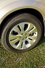 2009 Subaru Outback - 17 x 7.0-inch 5-spoke aluminum alloy. Silver finish