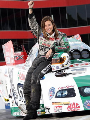 Ashley Force winning attitude