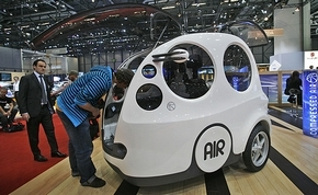 airpod car - geneva motor show
