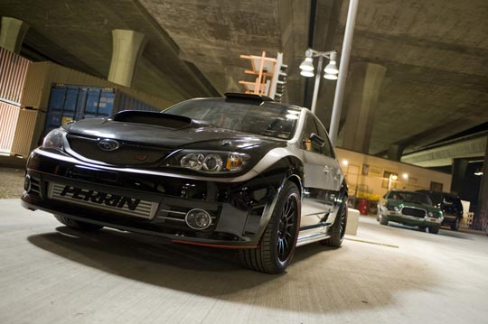 Subaru WRX STi from Fast and Furious 4