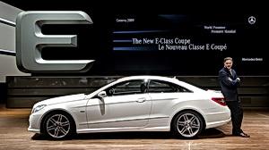 New Mercedes-Benz E-Class Coupe - E 320
