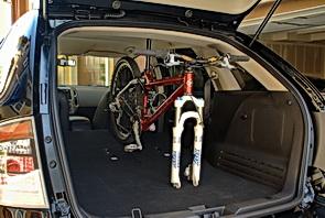 Ford Edge rear cargo area