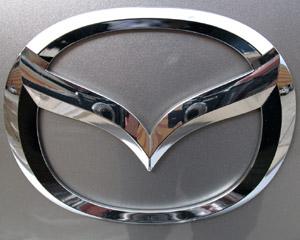 Mazda logo badge