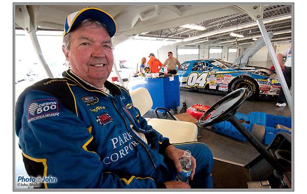 Hershel McGriff - 81 year-old NASCAR racer - Miller Motorsports Park - Salt Lake City, Utah
