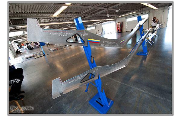 NASCAR bodywork inspection templates - Miller Motorsports Park - Salt Lake City, Utah
