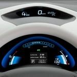 Nissan Leaf EV - information display pod