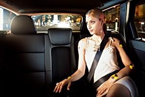 Volvo 3 point safety belt