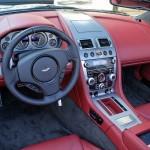 2009 Aston Martin DBS Volante cockpit