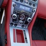Aston Martin DBS Volante center stack