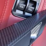 Aston Martin DBS Volante carbon fiber trim