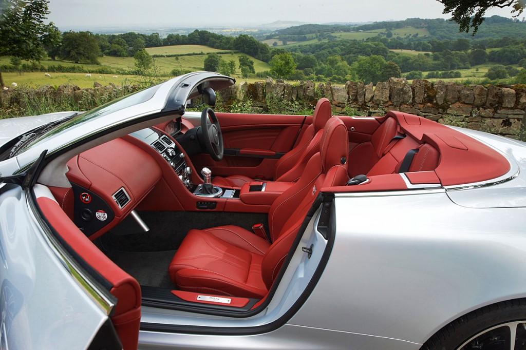 2009 Aston Martin Dbs Volante W Chancellor Red Interior Car
