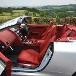 2009 Aston Martin DBS Volante w/Chancellor Red interior