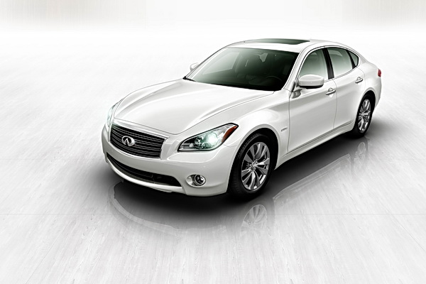 2012 Infiniti M35 Hybrid illustration
