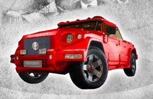 Dartz Prombron Monaco Red Diamond Edition SUV from Russia's RussoBaltique