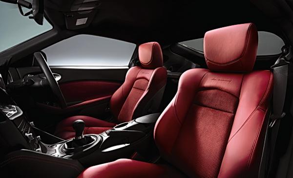 Nissan 370Z 40th Anniversary interior
