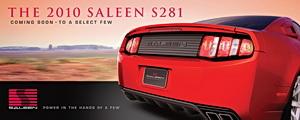 2010 Saleen S281 poster