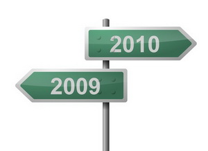 New Year 2009-2010 Signpost