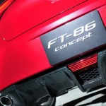 Toyota FT-86 Concept carbon fiber rear valence