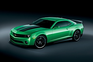 2010 Chevrolet Camaro Synergy Green Special Edition