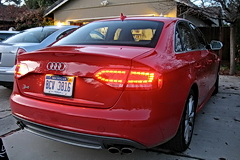 Audi S4 LED taillamps