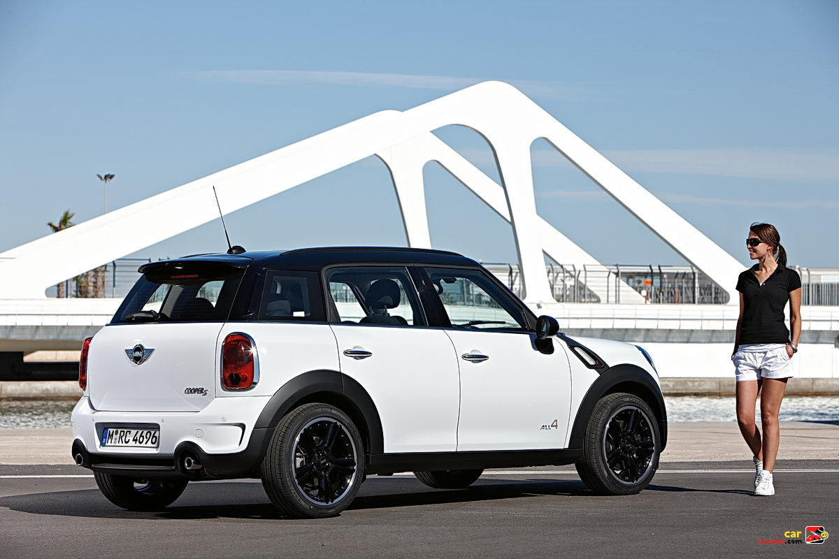 Mini mini cooper crossover : MINI Unveils Countryman Crossover | Car Reviews and news at ...