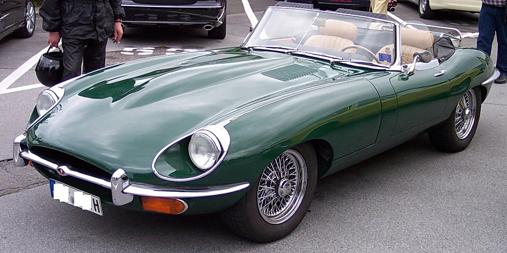 Jaguar E-Type 4.2 BRG